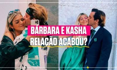 Bárbara Bandeira e Kasha separados