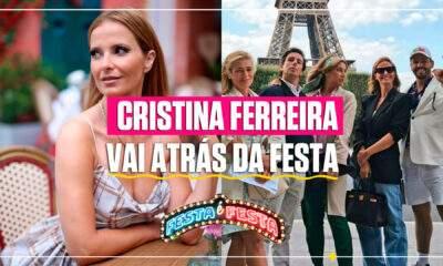 Cristina Ferreira em Paris