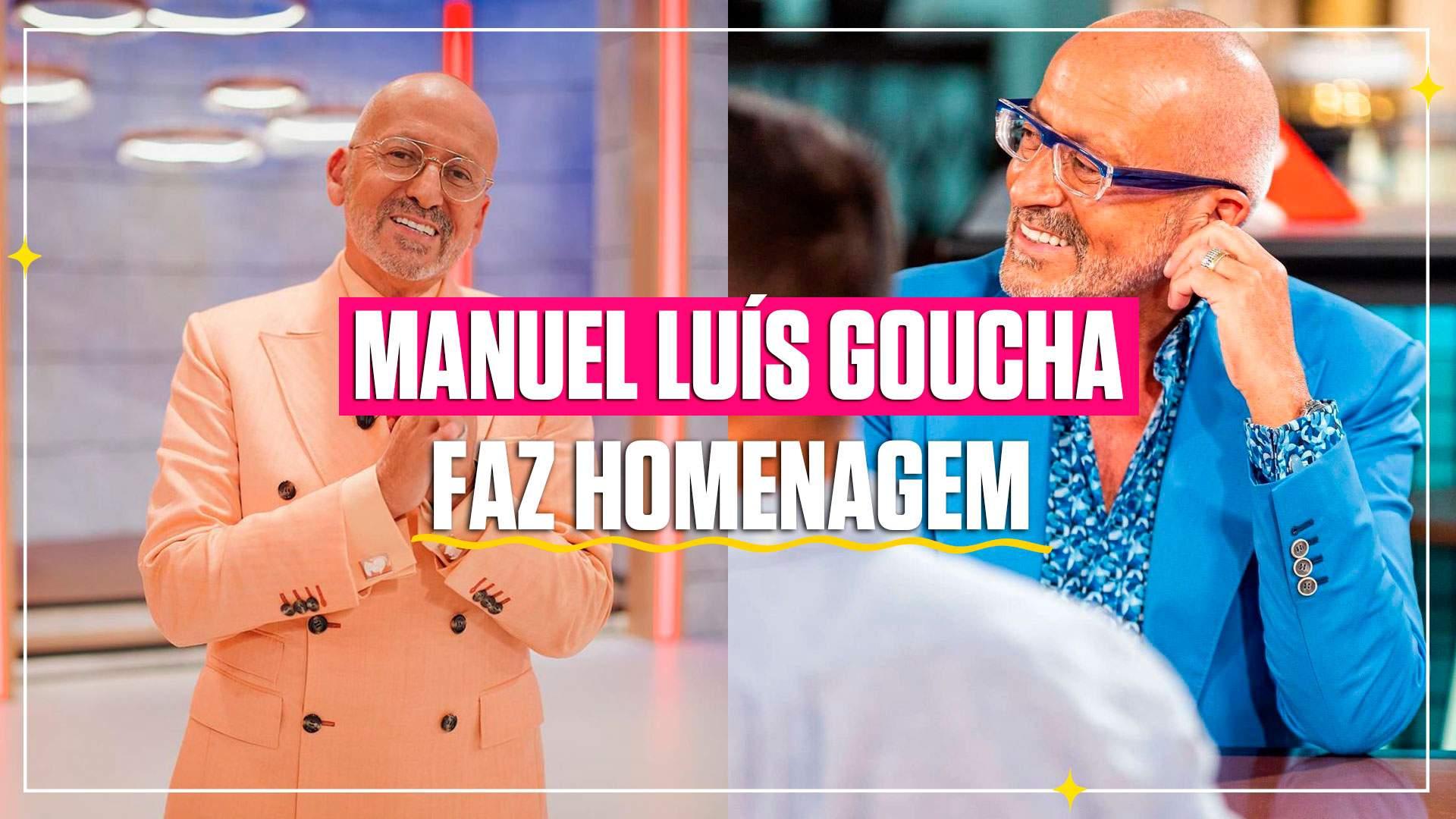 Manuel Luís Goucha faz homenagem ao seu realizador