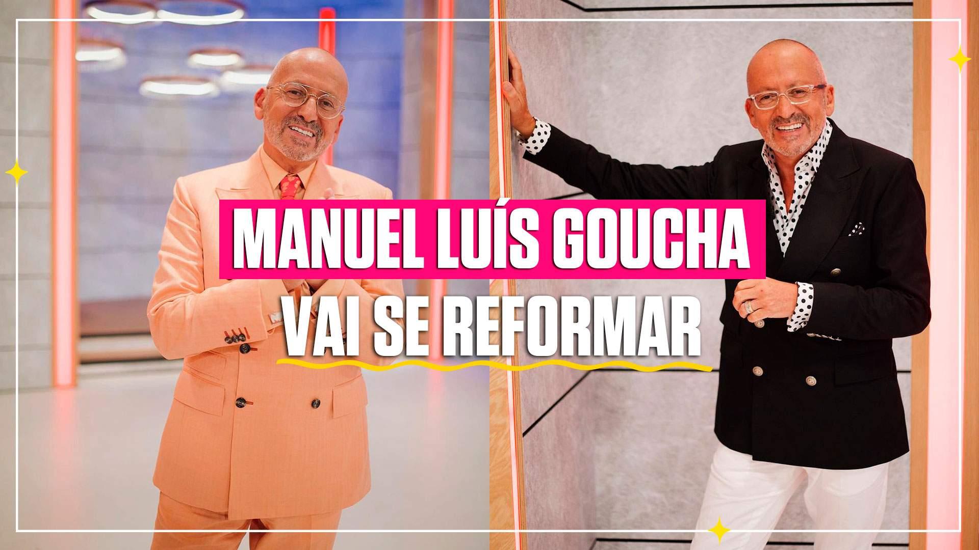 Manuel Luís Goucha diz em direto que se vai reformar