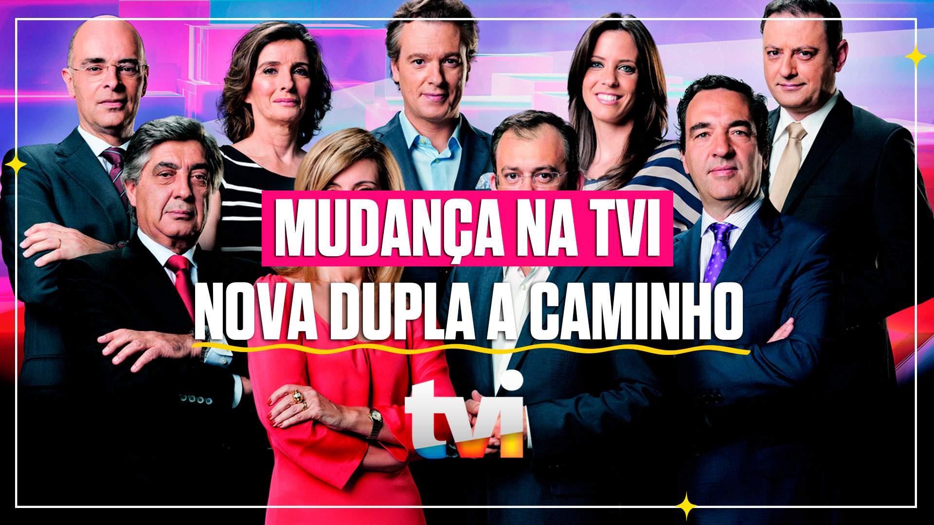 TVI prepara nova dupla para o Jornal das 8